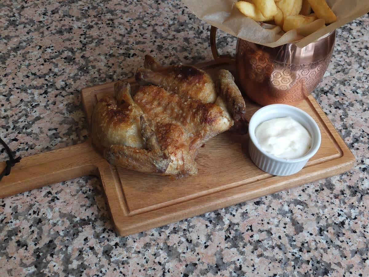 Spatchcock-Chicken
